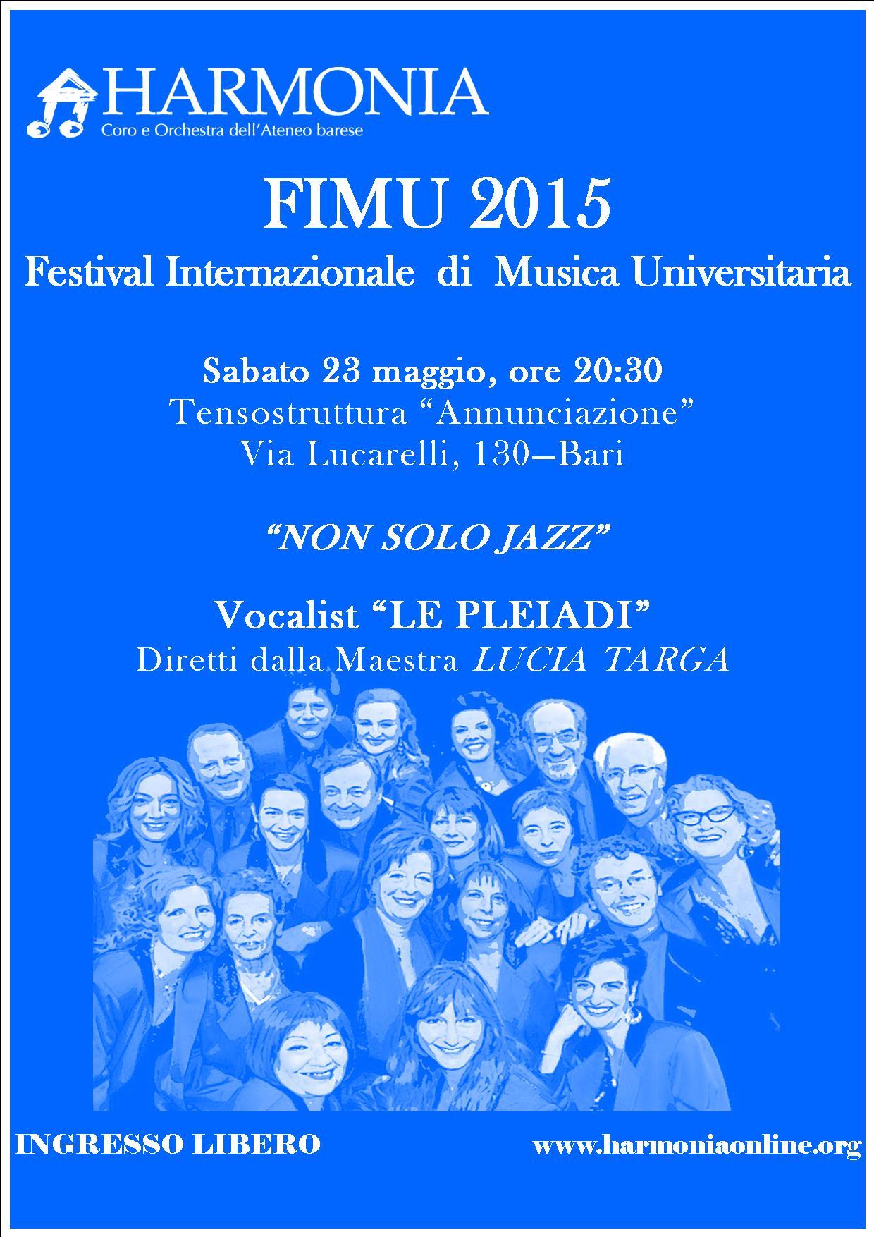 FIMU 2015 - Le Pleiadi @ Tensostruttura  | Bari | Puglia | Italia