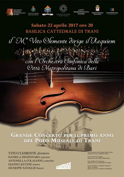 Requiem K626 di W. A. Mozart @ Cattedrale di Trani | Trani | Puglia | Italia