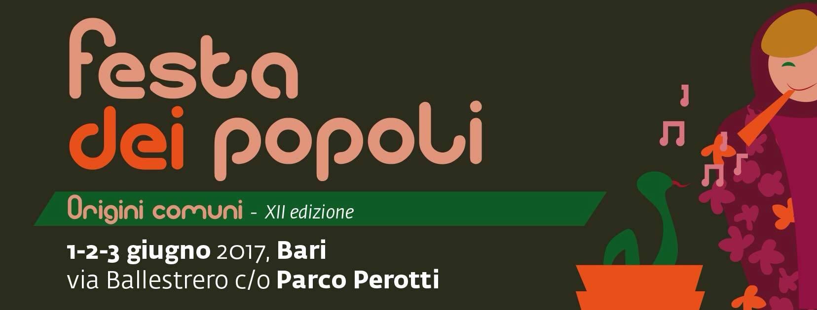 Festa dei popoli 2017 @ Parco Punta Perotti - Bari | Bari | Puglia | Italia