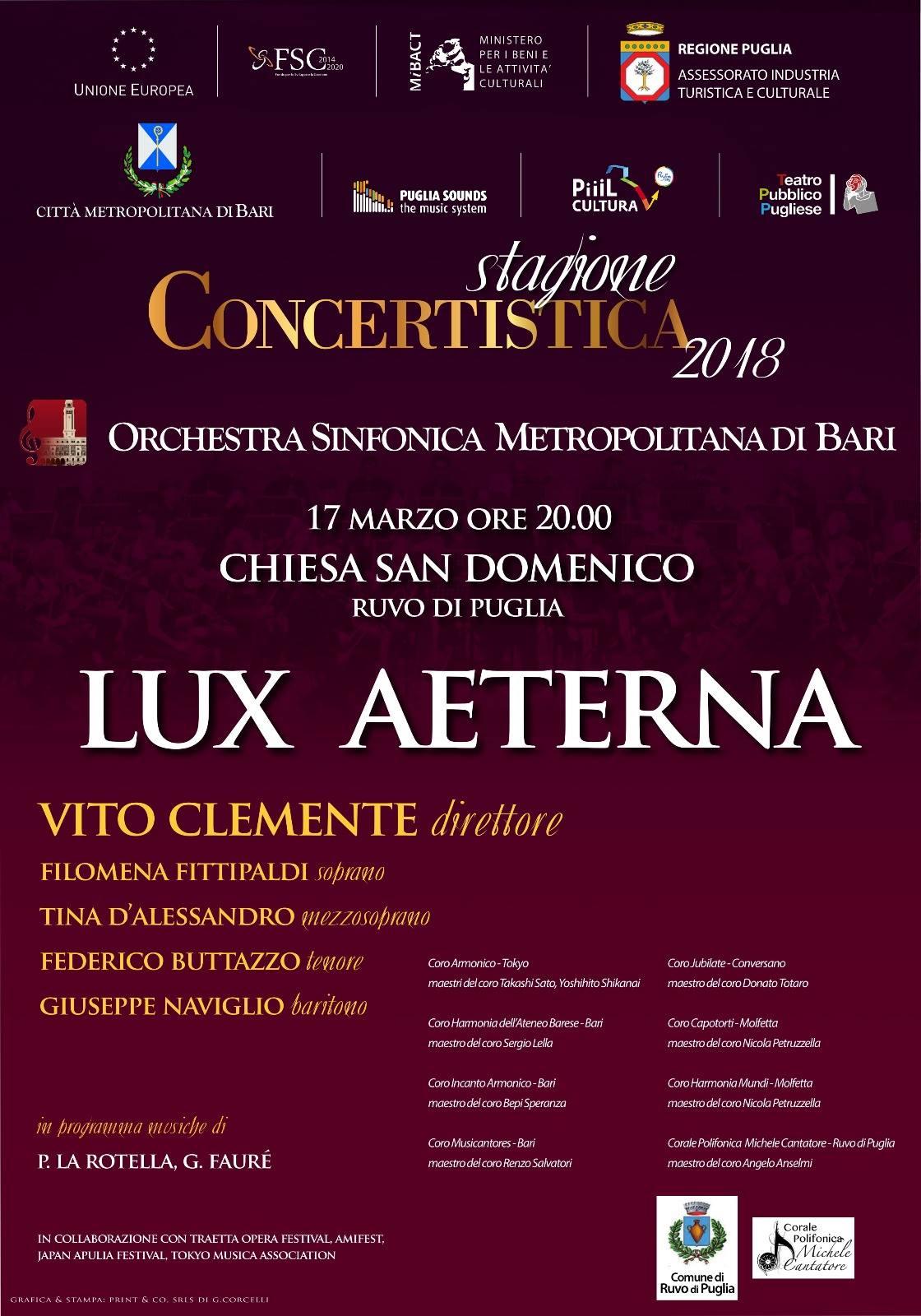 LUX AETERNA @ Chiesa di San Domenico, Ruvo di Puglia | Ruvo di Puglia | Puglia | Italia