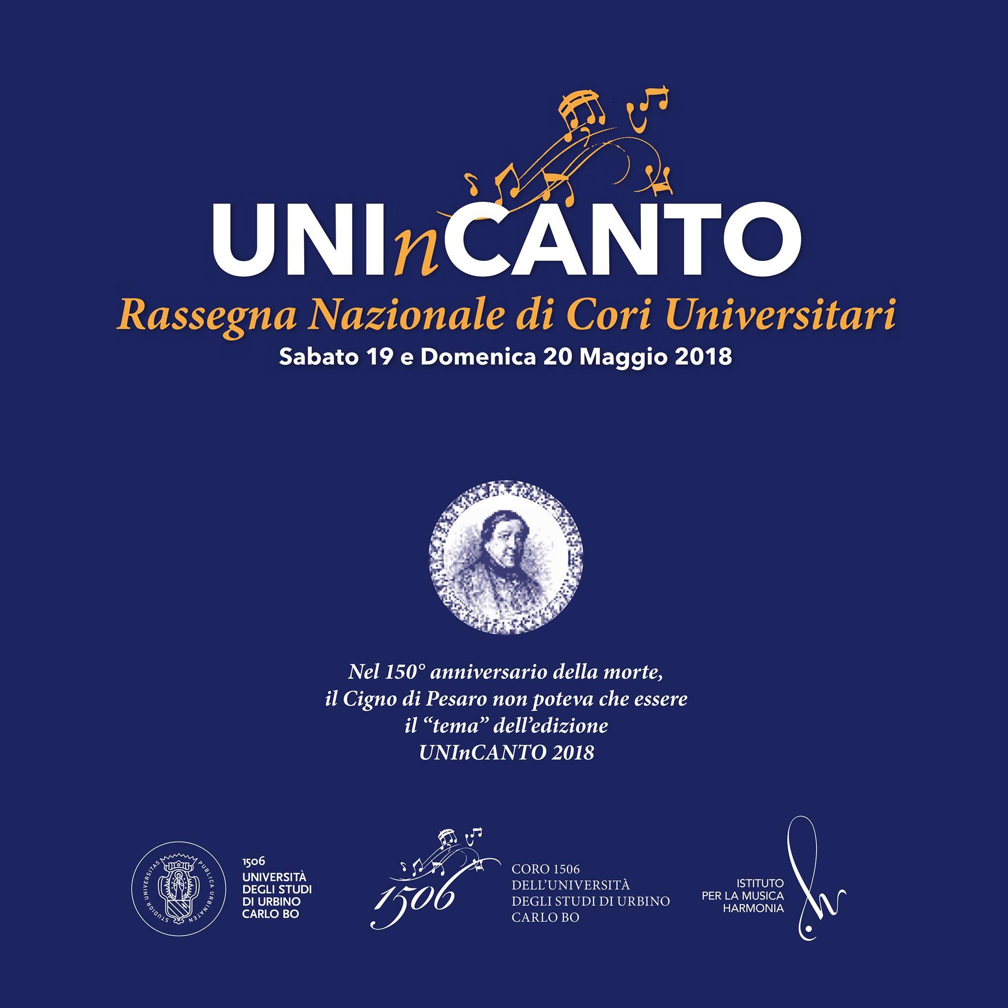 UNInCANTO 2018 - Rassegna dei cori universitari @ Urbino